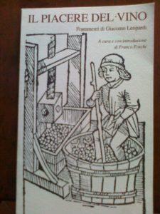 Anche Giacomo Leopardi sapeva ....di vino