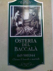 """Osteria del Baccalà"" da Linda in quel di Stra (VE)"