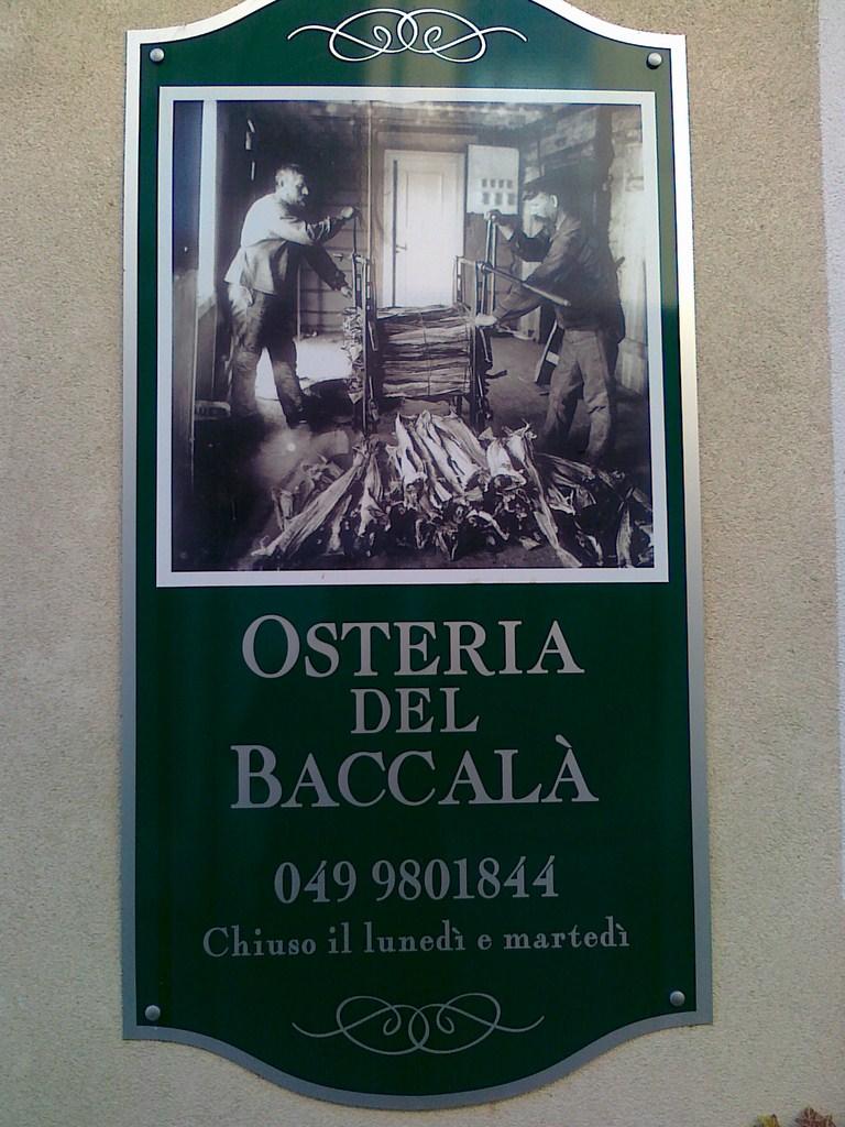 Osteria del Baccalà