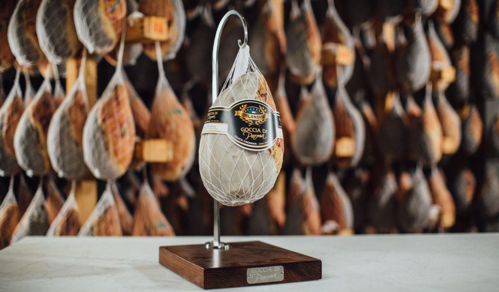Goccia di Parma dell'azienda Orlandini di Langhirano