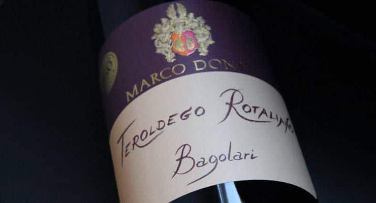 "Teroldego Rotaliano ""Bagolari"" di Marco Donati"