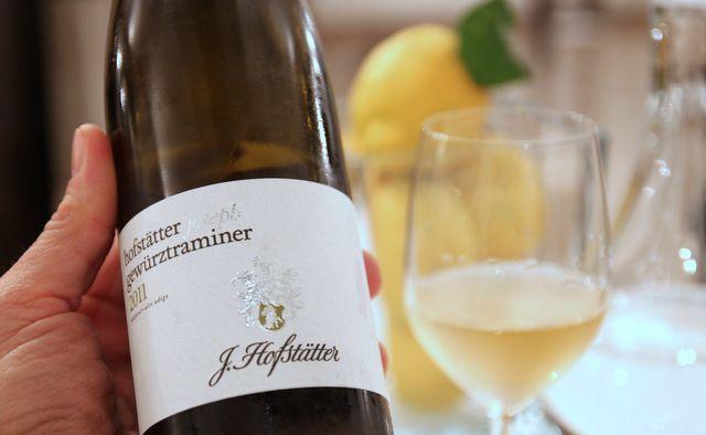 Gewürztraminer dell'azienda Josef Hofstätter di Termeno