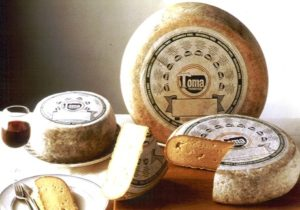 Due formaggi piemontesi: Toma brusca e Castelbelbo