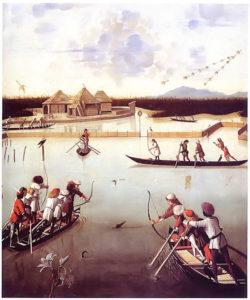 Caccia in laguna
