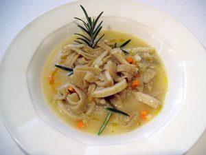 Supa de tripa de San Martin