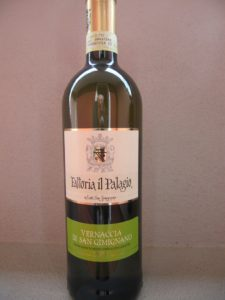 Fattoria il Palagio: Sauvignon Toscana IGT e Vernaccia S. Gimignano DOCG