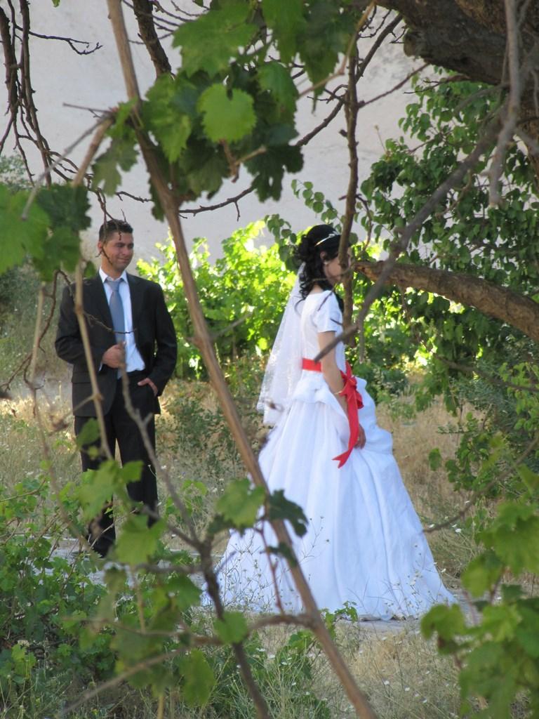 sposi in Cappadocia