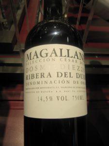 Magallanes 2006, DO Ribera del Duero di Cesar Muñoz