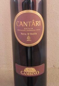 "Gambino ""Cantari"", Nero d'Avola Sicilia IGT 2008"
