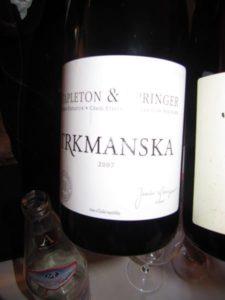 Pinot nero, Trymanska, 2007, Stapleton & Springer, Rep. Ceca