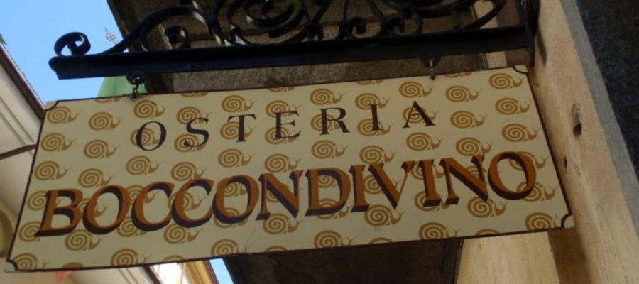 "Osteria ""Boccondivino"" a Bra (CN)"