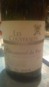 Chateauneuf du Pape, Les Couversets 2011, 14,5%